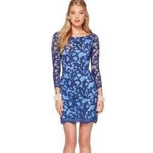 Beautiful Blue Lilly Pulitzer Dress Size 0